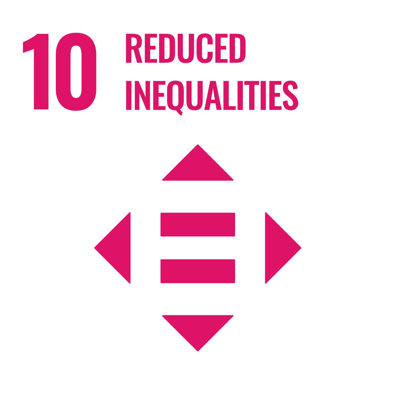 Reduced inequalities - Goal 10