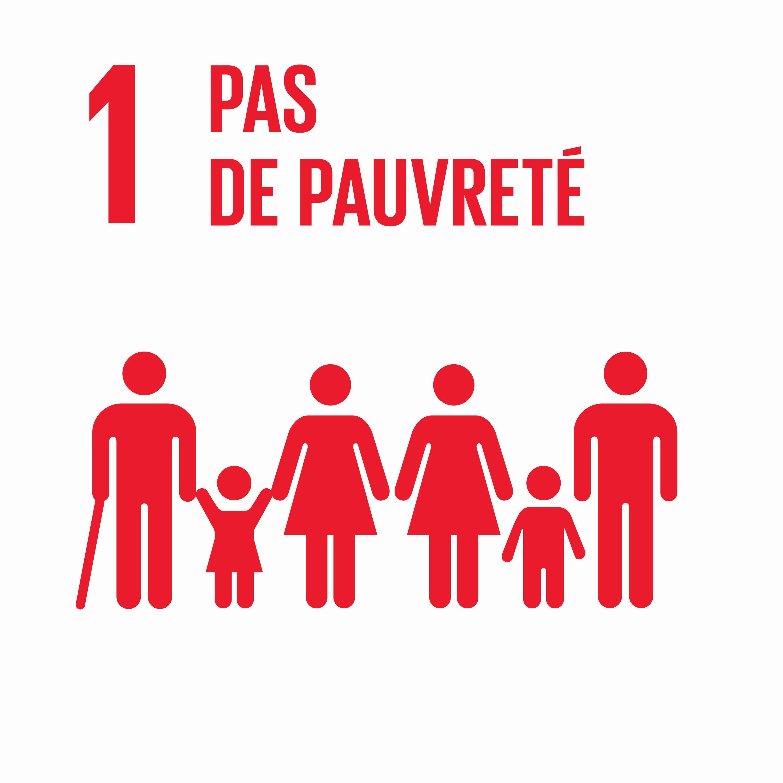 Pas de pauvreté - Objectif 1