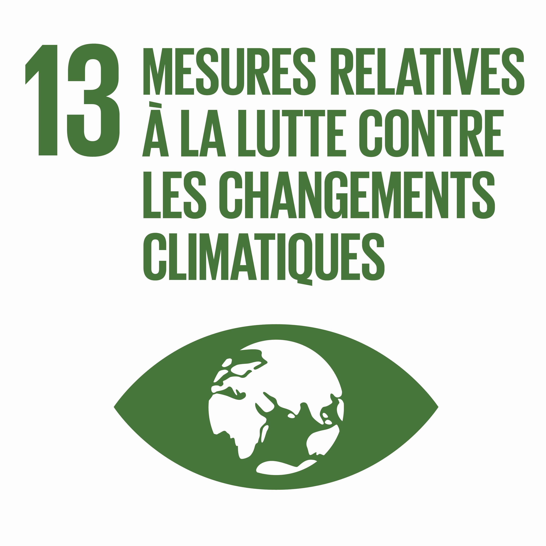 Mesures relatives à la lutte contre les changements climatiques - Objectif 13