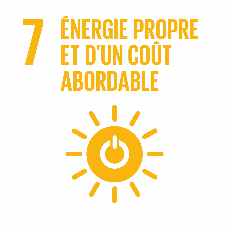 Energies propres et d'un coût abordable - Objectif 7